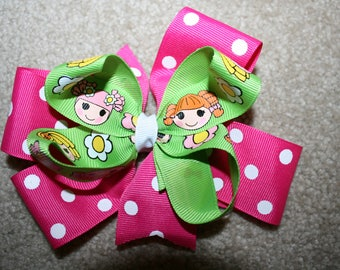 Lalaloopsy custom boutique hair bow clip clippie accessory