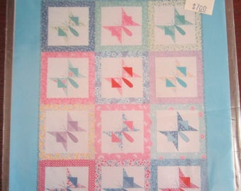 Forever Butterflies Lap & Twin Size Quilt
