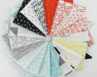 Creative Rockstar Fat Quarter Bundle - 18 Fat Quarters - 4.5 Yards Total