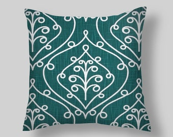 Plantation Blue Pillow Covers
