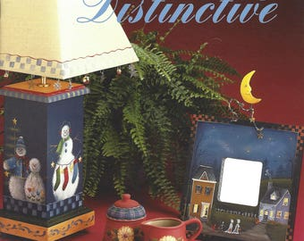 Seasonally Distinctive by Judy Diephouse and Lynne Deptula Tole Painting Book FI0318