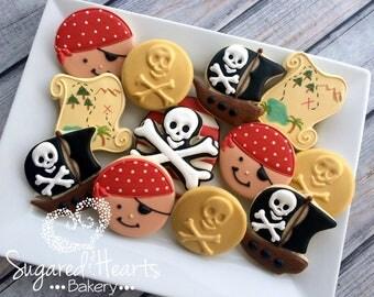 Pirate Birthday Cookies - 1 Dozen