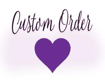 Custom veil for Hannah