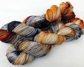 Handdyed SockYarn, 75 Wool, 25 Nylon 100g 3.5 oz. Nr. 596