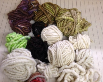 Wool rug Yarn Lot