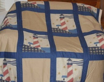 Lighthouse Twin Quilt