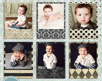 ON SALE Digital Frames, PSD Photo Frame template, Photo Frames - Instant Download