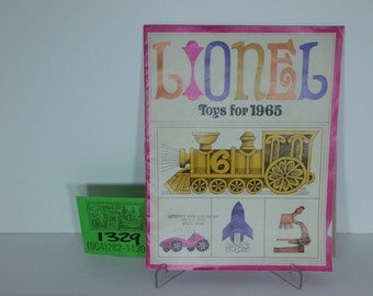 Lionel Toys for 1965 Toy Catalog
