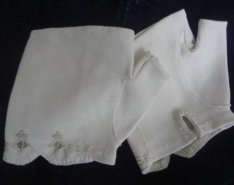 Upcycled Fingerless Dress Gloves Shabby Elegance Gloves Ladies Upcycled Dress Gloves Vintage - Atlantic Rock Threads