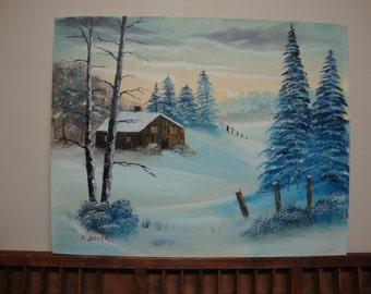 Winter Painting by Bolek