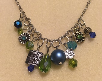 Bead Cluster Necklace