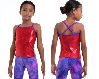 4 x Dance tops pattern, girls leotard pattern pdf, gymnastics tops pattern, gym tops pattern, cheer tops pattern GYM TOPS #2