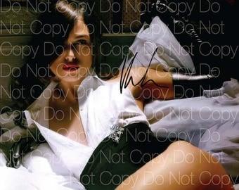NATALIE PORTMAN hand-signed STAR WARS 8x10 lifetime coa