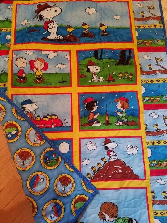 Snoopy Crib Quilt Snoopy Nursery Bedding Woodstock Toddler