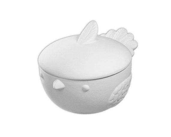 Bird box ceramic bisque paintable pottery craft for Bisque ceramic craft stores