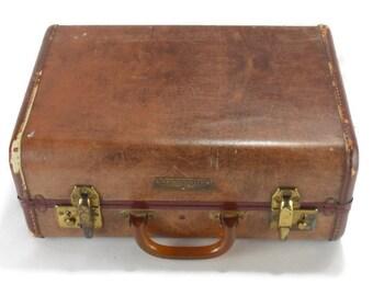 Vintage Samsonite Train Case Luggage * Schwayder Bros Suitcase