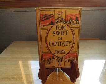 Tom Swift in Captivity Vintage Book