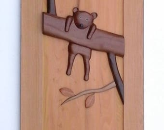 Artistic Door - Unique - Wood Door - Handcrafted