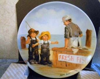1984 Jeanne Down's Limited Edition & Numbered Collector's Plate