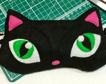 Cat sleep mask; Cat eye mask
