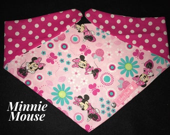 Minnie Mouse Dog Bandana