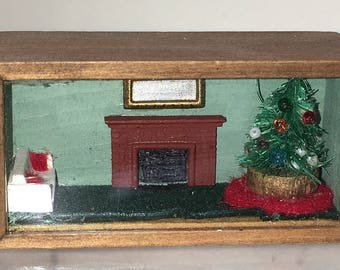 1/144th scale Christmas Scene in Box (BL)