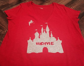 Youth Disney Cinderella's Castle Home Shirt