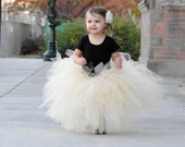 Choose Your Color || Floor Length Tutu || baby girl tutu || toddler tutu || birthday tutu || tulle tutu skirt || flower girl tutu || nb-3T