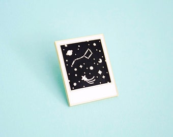 Constellation Polaroid // Enamel Pin