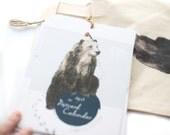 Wildlife Calendar, Postcard calendar 2017