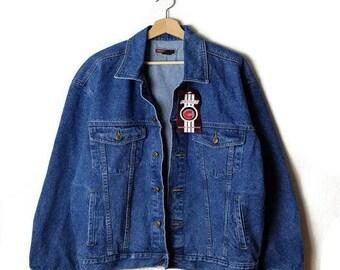 Vintage Men's Denim Jacket Blue Denim Jacket /Jean Jacket  from 90's*