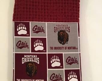 University of Montana Grizzlies bar or kitchen towel