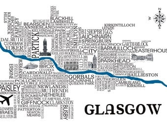 Glasgow Word Map