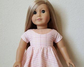 Party Dress with Sleeves for 18 inch dolls by The Glam Doll