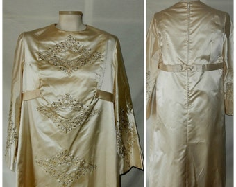 Silk Peau de Soie Dress can be used in pieces to make other things