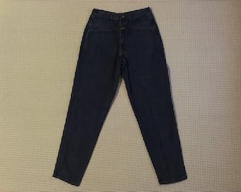 1995, Girbaud jeans, in dark blue, Men's size 34x35