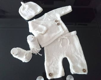 Coming home outfits, baby kimono set, baby kimono outfit, baby shower gifts, new baby gift, baby knit set, take home outfit baby boy