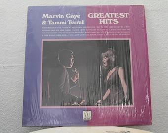 "Marvin Gaye & Tammi Terrell -  ""Greatest Hits"" vinyl record"