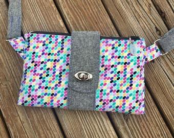 Small Crossbody bag, Small purse, Cross body bag, Small bag crossbody, fold over clutch, purse, handmade bag, Sling bag, everyday bag