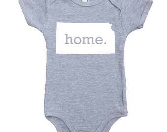 Homeland Tees Kansas Home Unisex Baby Bodysuit