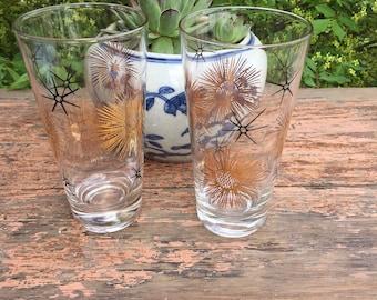 Set of drinking Glasses, Mid-Century