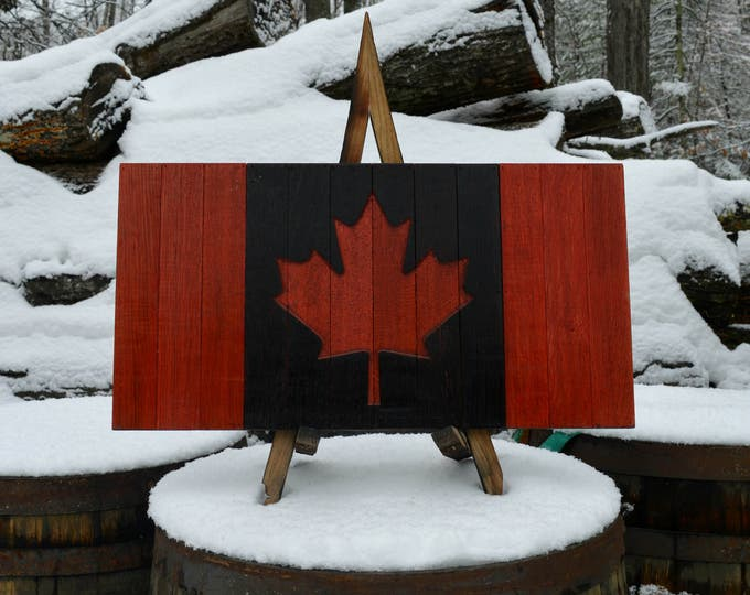 Canadian Whiskey Barrel Flag