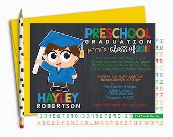 preschool invitation  etsy, invitation samples