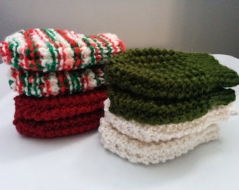 Grandma's Holiday Colours Baby Mittens