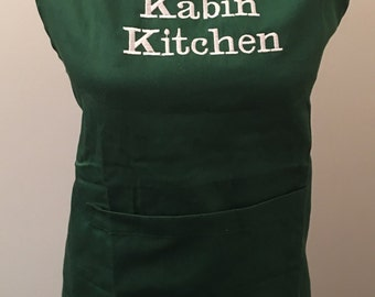 Personalized Apron- various apron colors available