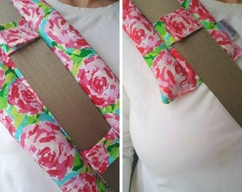 Breast Cancer Survivor Gift - Port Pillow - Seat belt Pillow - Surgery Gifts - Mastectomy Gift - SeatBelt Cover - Heart Surgery Padding