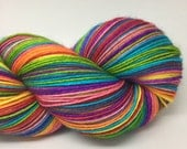 Self striping merino nylon sock yarn- I don't think you're ready for this jelly