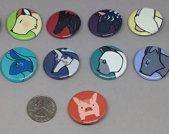 Tales of Mascot Buttons