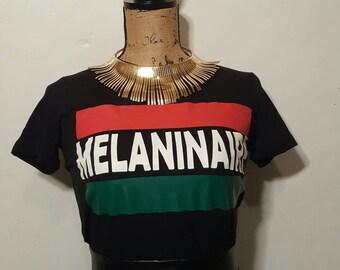 "RBG ""Melaninaire"" Black History Tee, African Heritage, African American tshirt, Black History Tshirt"