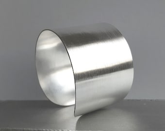 Silver plated cuff
